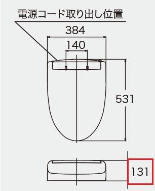 KMシリーズの寸法