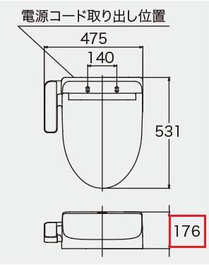 Kシリーズの寸法
